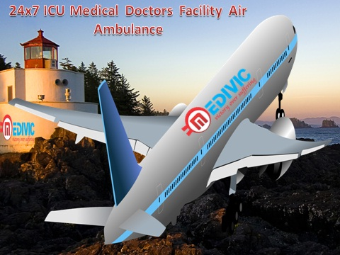 Low Cost Air Ambulance Service in Kolkata by Medivic Aviation