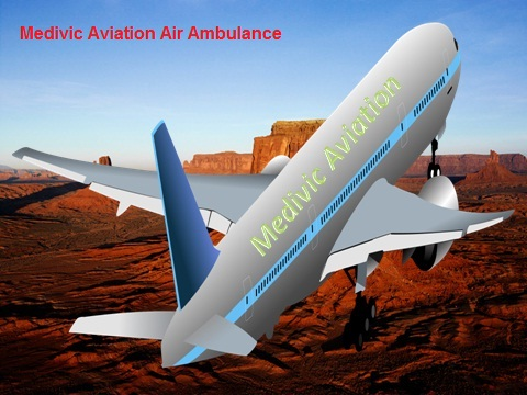 Medivic Aviation Air Ambulance Service in Ranchi