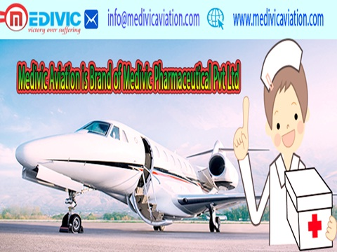 Medivic Aviation Air Ambulance from  Delhi with ICU Service