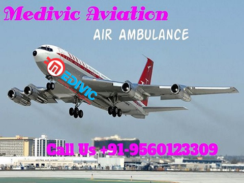 Hi-Tech Air Ambulance service in Agatti-Medivic Aviation