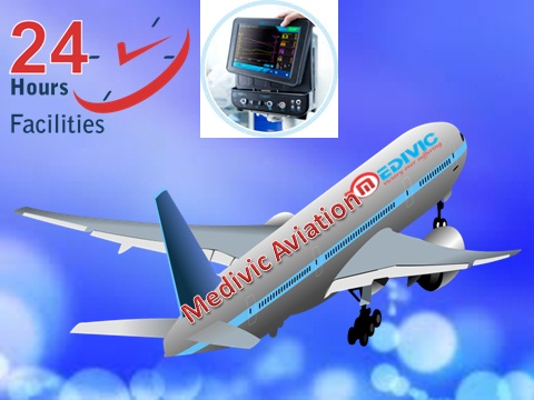 Medical Air Ambulance from Guwahati to Delhi at Low Fare-Medivic