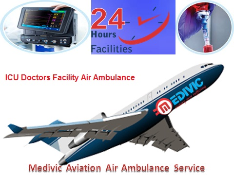 Image for Low Fare Charter Air Ambulance form Ranchi to Delhi-Medivic Aviation