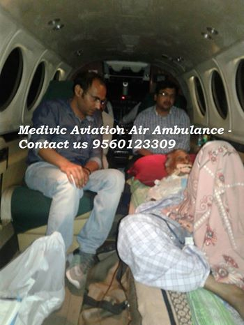Get Low Cost Charter Air Ambulance in Chennai-Medivic Aviation