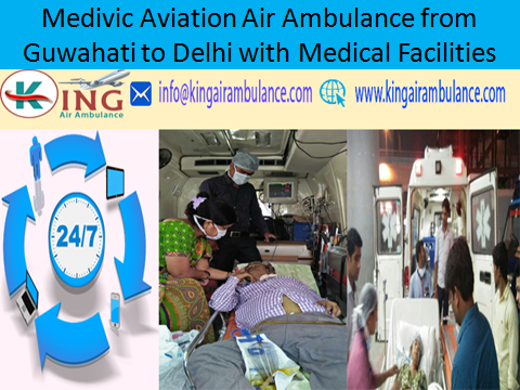 Charter Air Ambulance in Delhi at Low Cost by Medivic Aviation