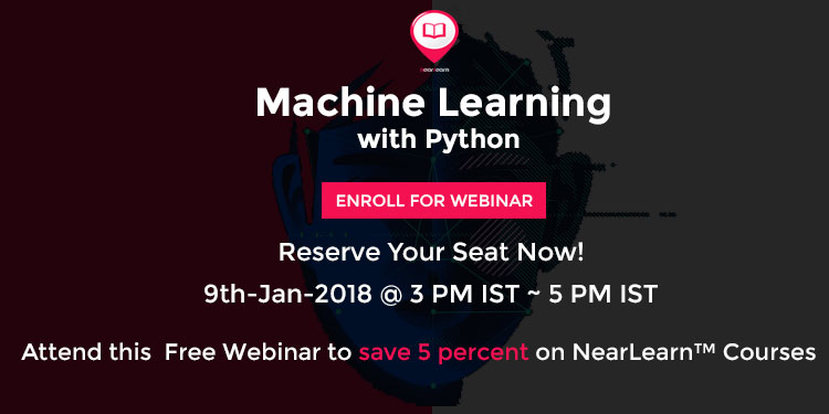 Image for Free Live Webinar On Machine Learning With Python