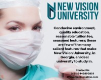 Image for Study MBBS in New Vision University | Fee Structure | Hostel