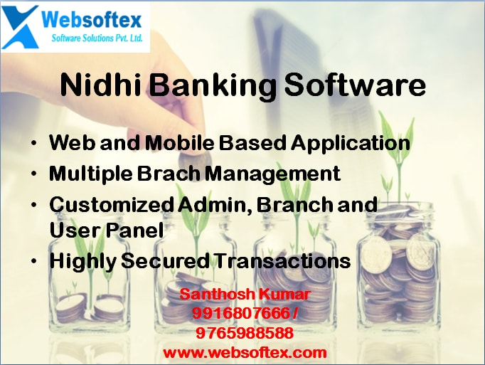 Image for Customized Nidhi Company Software with free Mobile App