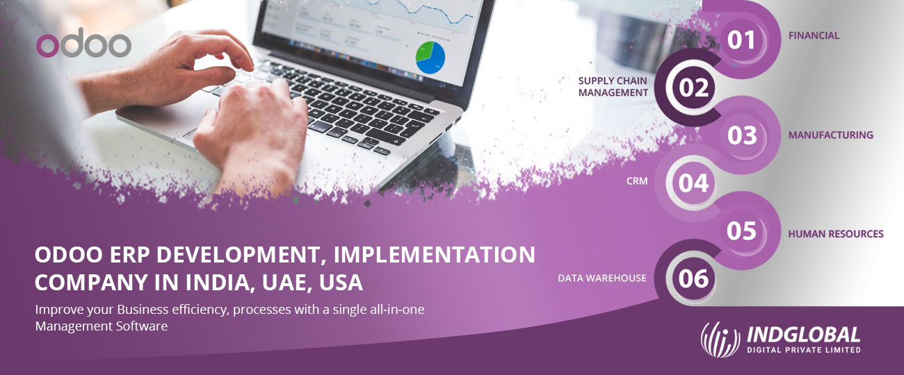 Odoo ERP customization Services in Bangalore