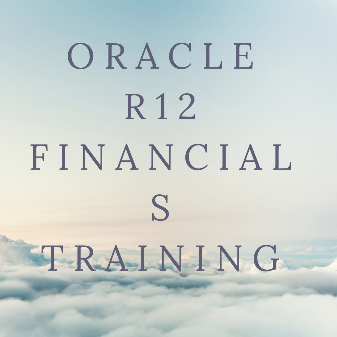 Image for Oracle R12 Financials Training