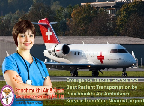 Best Rescue Medical Team by Air Ambulance from Silchar to Delhi