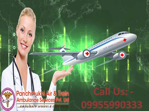 Emergency Patients Care by Air Ambulance from Bhopal to Delhi