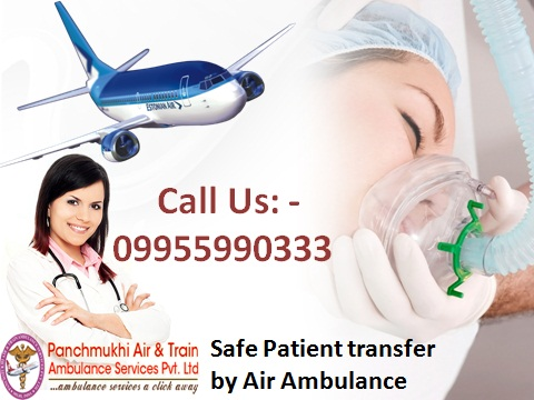 Get Low-Cost Air Ambulance from Gorakhpur to Delhi