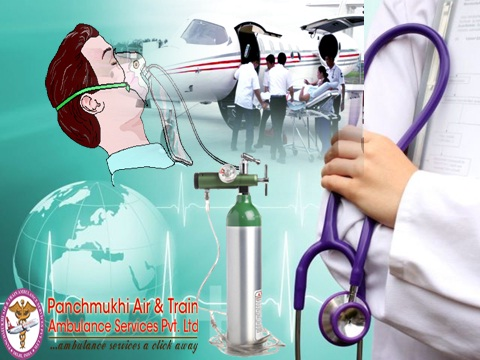 Get Best Rescue Medical Air Ambulance from Mumbai to Delhi