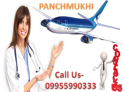 Panchmukhi low-Cost Air Ambulance Service in Patna