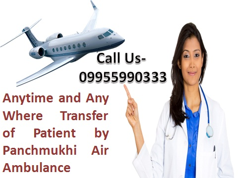 Emergency Rescue Air Ambulance Service in Kolkata