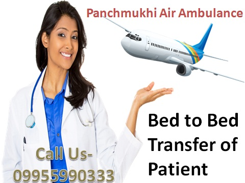 Now Low-Fare Medical Air Ambulance Service in Guwahati
