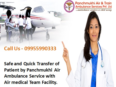 Comfort Care Air Ambulance Service from Chennai to Delhi