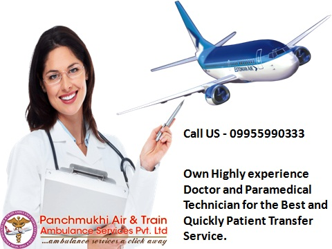24 Hours Rescue Service by Panchmukhi Air Ambulance from Bangalore