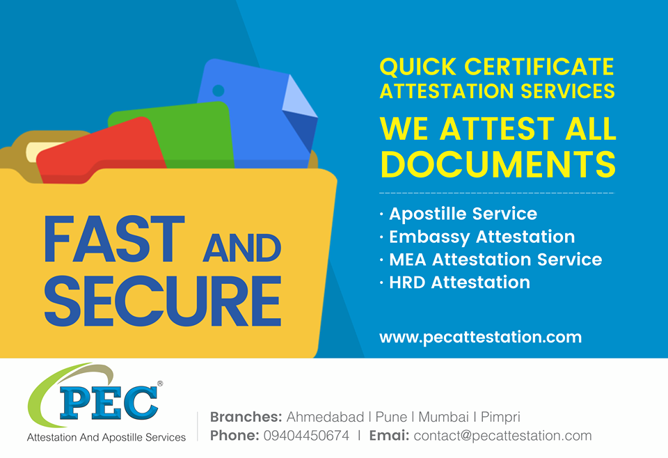 Image for PEC Attestation And Apostille Services