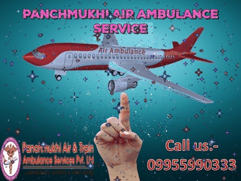 Panchmukhi Air Ambulance Service in Patna to Delhi at Low-Cost