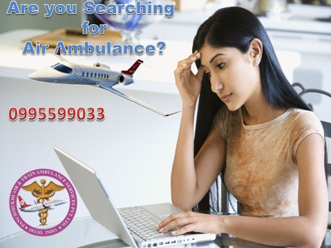 Charter Air Ambulance Service in Guwahati to Delhi at Low-Cost
