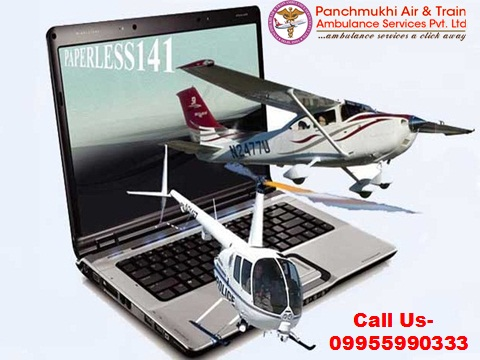 Emergency Patient Shift by Air Ambulance Service in Mumbai