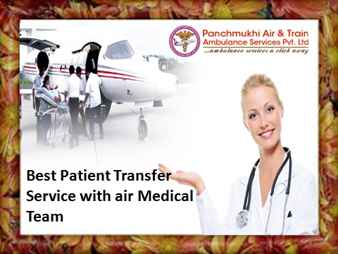 Bhopal Mumbai to Delhi Air Ambulance Emergency Medical Services