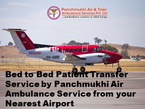 Affordable Cost Air Ambulance from Bagdogra to Delhi at Low