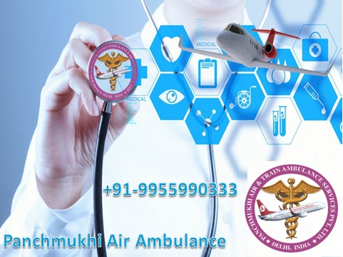 Guwahati Low-Cost Air Ambulance Medical Emergency Services