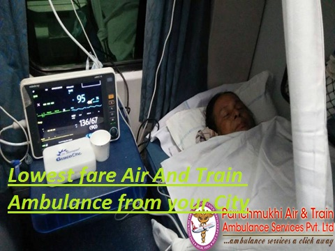 Get Low-Fare Air Ambulance from Delhi to Anywhere City