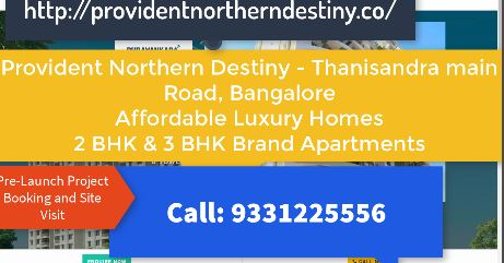 Image for Provident Northern Destiny - Thanisandra Main Road Luxury Apartments
