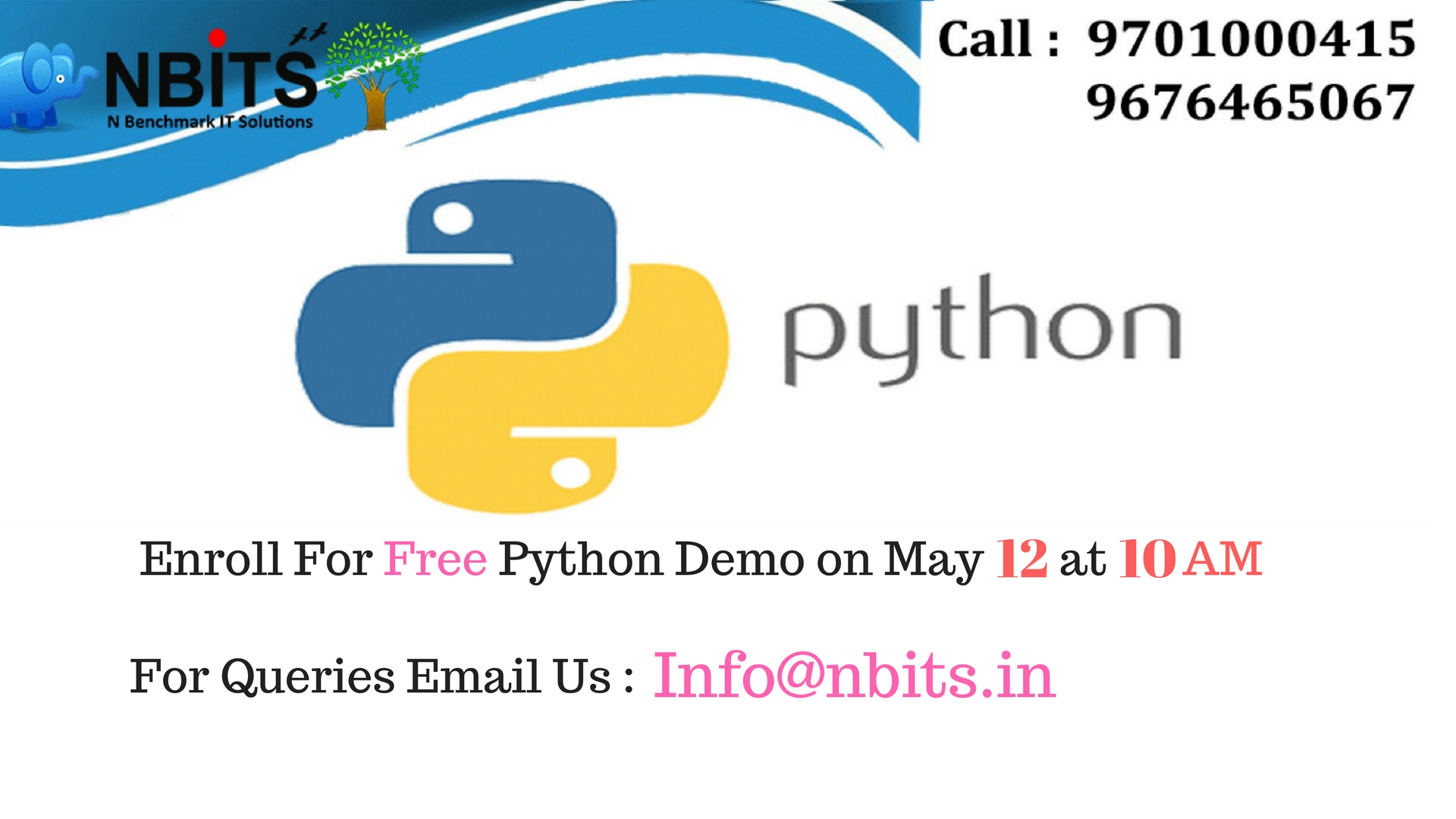 Free Demo On Python Online Training and Python Training in Hyderabad