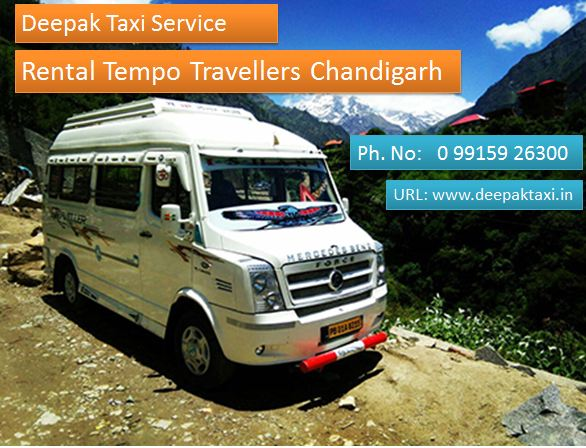 Image for Tempo Traveller Service In Chandigarh