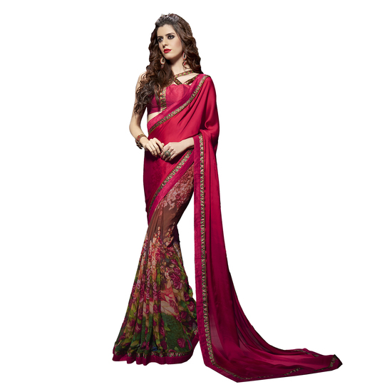 Image for Gujcart : Best Designer Saree - Sarees Wholesaler Site