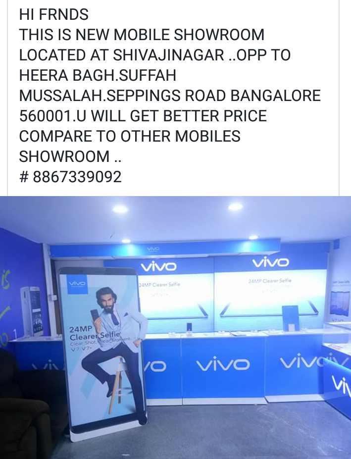 Image for Vivo mobiles Ur best of best price ever