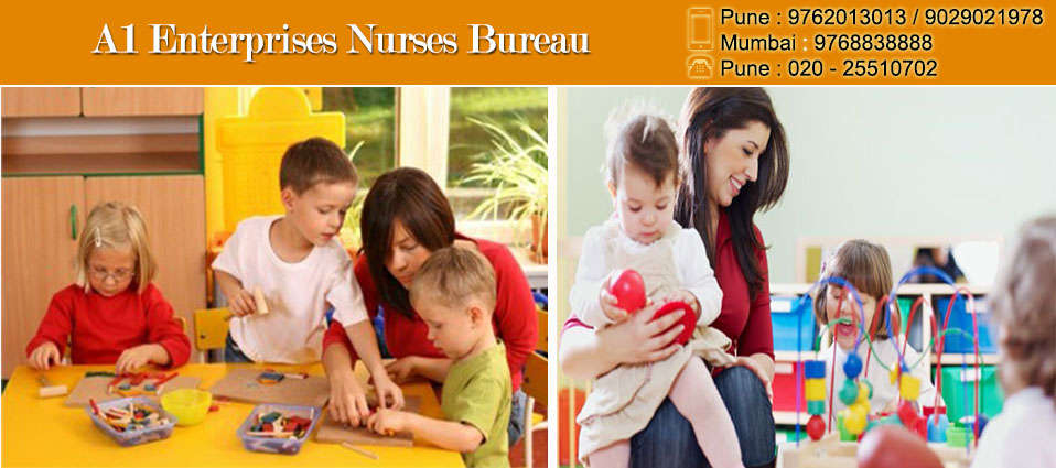 Babysitting At Home Services at Mumbai -9768838888