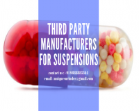 Image for Get Third party manufacturing for Suspensions