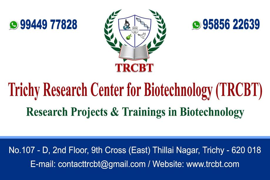 Image for Trichy Research Center for Biotechnology