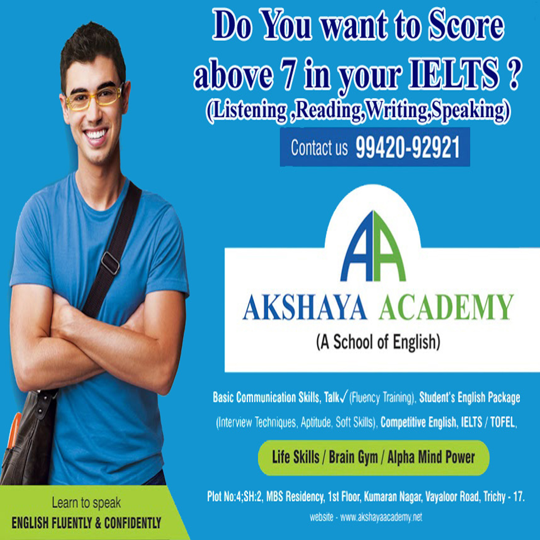Image for IELTS CLASS IN TRICHY | IELTS COACHING CENTER IN TRICHY