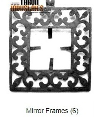 Image for Iron Mirror Frames, Buy Cheap Mirror Frames Furniture in Jaipur