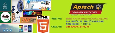 Drive to Your Career in IT Industries with Aptech Malviya Nagar