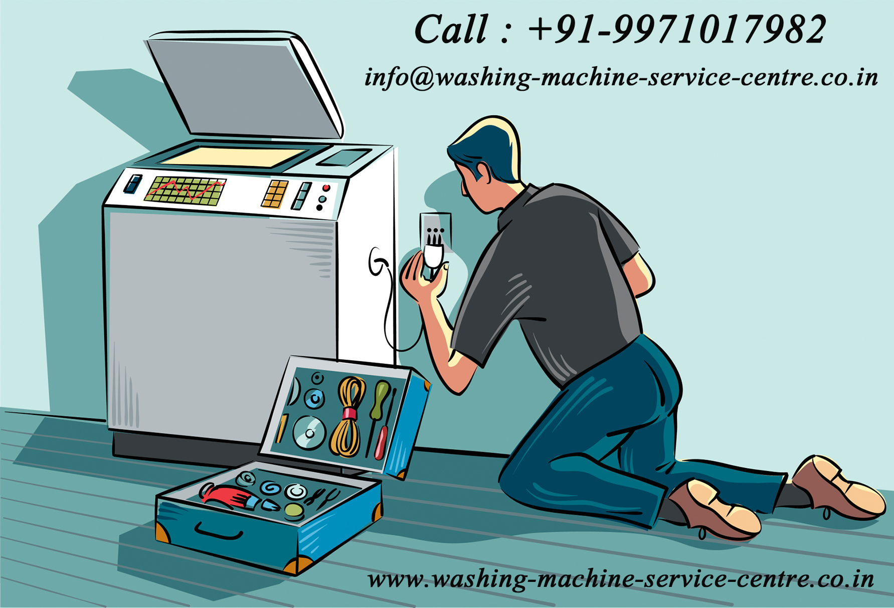 Image for Washing Machine Repair Service Centre In Gurgaon