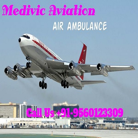 Affordable Cost Air Ambulance Service in Bhopal by Medivic Aviation