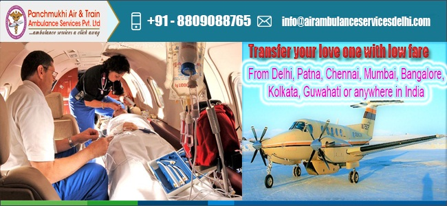 Now Shifting Critical Patients from Chennai by Panchmukhi Air Ambulanc