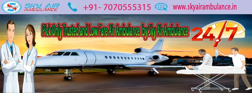 Sky Air Ambulance from Bhopal to Delhi Anytime and Anyway