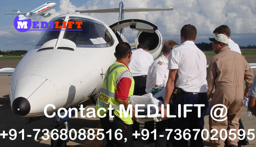 Get an Immediate Air Ambulance Service in Raipur – Contact Medilift
