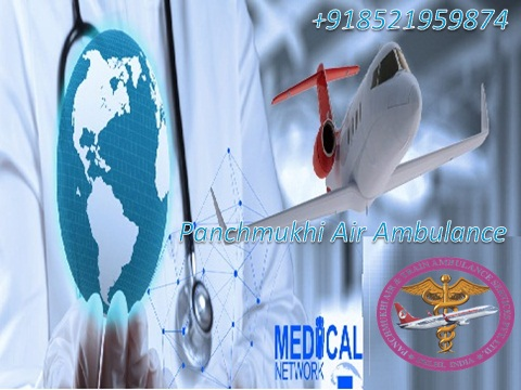 Medical Emergency Air Ambulance Service in Dibrugarh