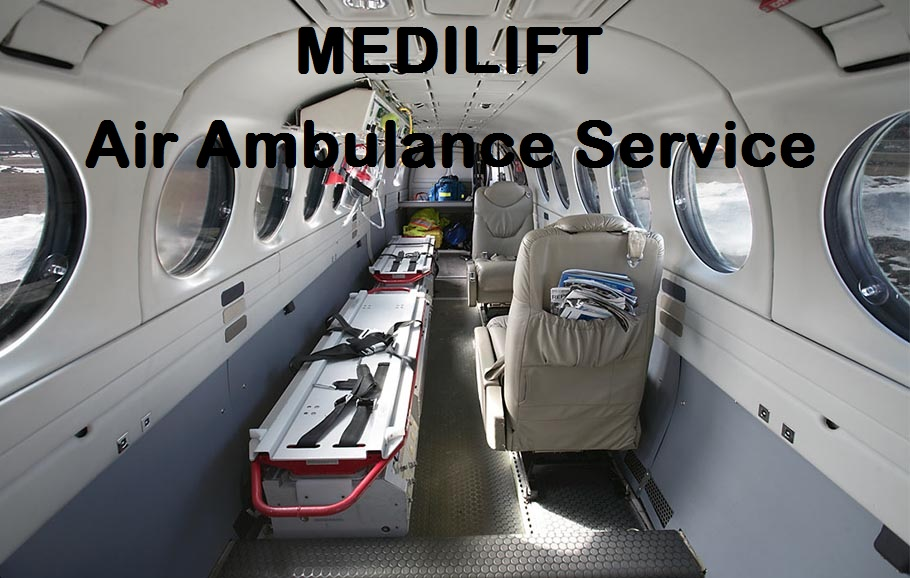 Avail an Affordable Air Ambulance in Jamshedpur by Medilift