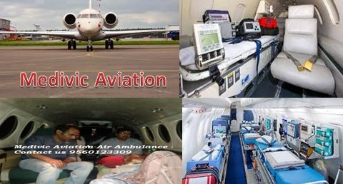 Emergency Air Ambulance Service in Bhopal by Medivic Aviation