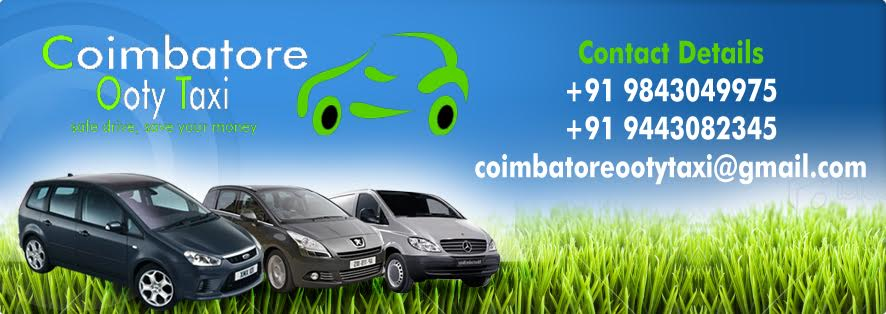 Coimbatore Airport Taxi Coimbatore Ooty Taxi Coimbatore Travels